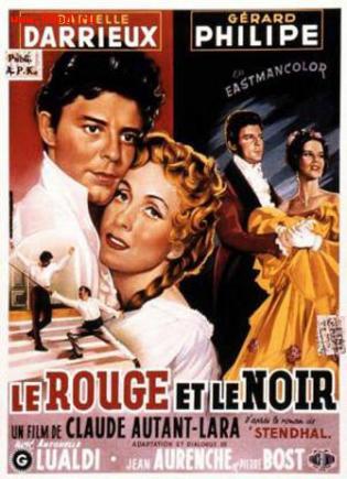 ������� � ������ /Le Rouge et le noir (1954)