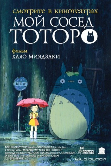Мой сосед Тоторо / My Neighbor Totoro (1988)
