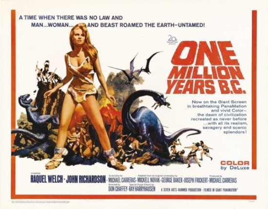 ������� ��� �� ����� ��� / One Million Years B.C. (1966)