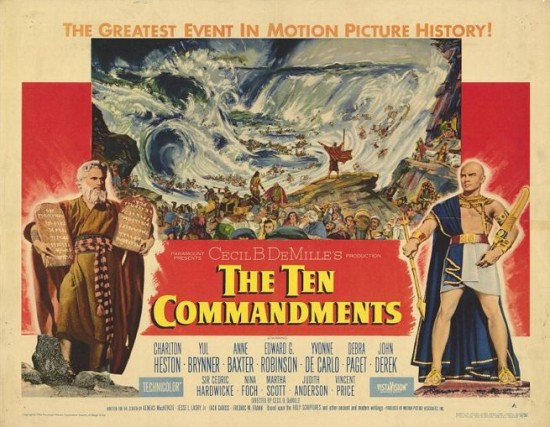 ������ ��������� / The Ten Commandments (1956)