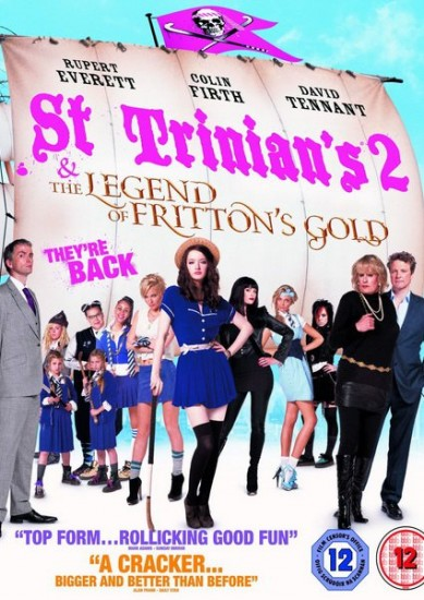 Одноклассницы 2 / St Trinian's 2: The Legend of Fritton's Gold (2009)