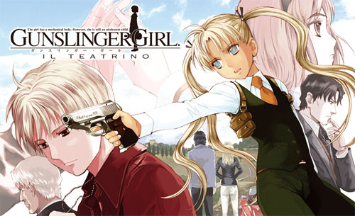 Школа убийц / Gunslinger Girl (2003)
