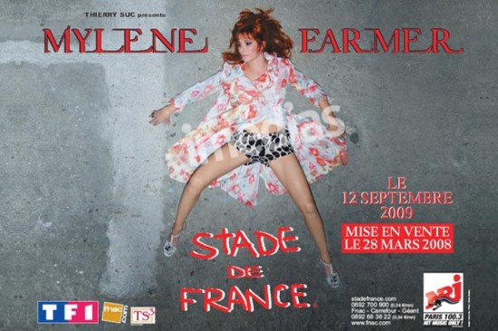 Mylene Farmer Stade de France (2009)