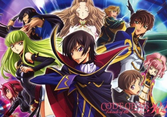 Код Гиас: Восстание Лелуша / Code Geass: Lelouch of the Rebellion R2 (второй сезон)