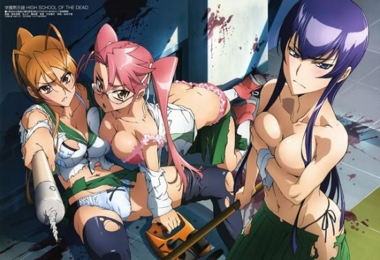 ����� ��������� / Highschool of the Dead (2010)