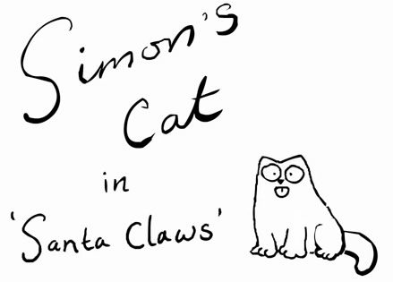 Simon's Cat in 'Santa Claws'