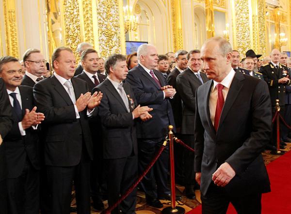 Смотреть онлайн Инаугурация Путина 2012.