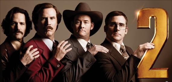 Телеведущий: И снова здравствуйте / Anchorman 2: The Legend Continues (2013)