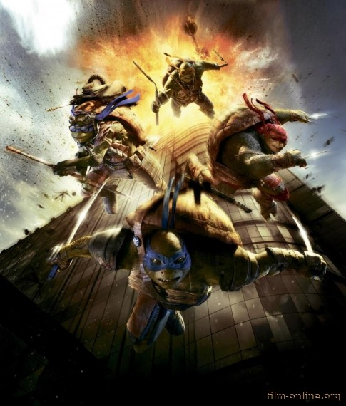 ����� ���������-������ / Teenage Mutant Ninja Turtles (2014) ������