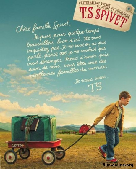 ����������� ����������� ������� ������� / The Young and Prodigious T.S. Spivet (2013)