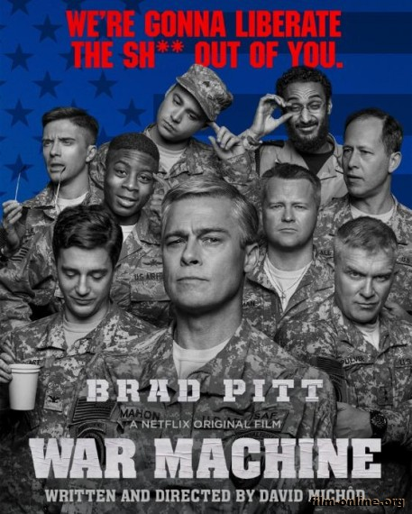 Машина войны / War Machine (2017)